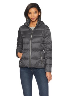 Lucky Brand Women's Short Lightweight Packable Down Coat GUNM XL