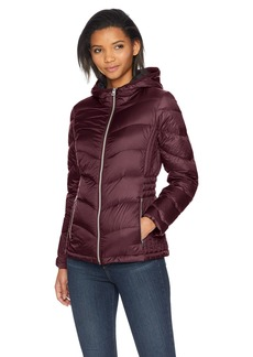Lucky Brand Women's Short Packable Down Coat with Cinch Detail  SM