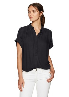 Lucky Brand Women's Short Sleeve Top