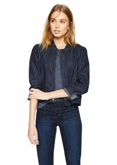 Lucky Brand Women's Shrunken Bomber Jacket  S