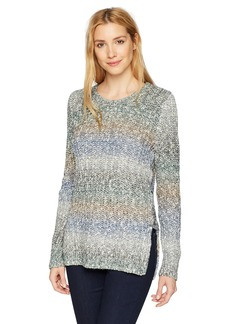 Lucky Brand Women's Side Lace Up Sweater  S