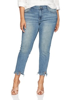 Lucky Brand Women's Size Plus MID Rise Ginger Skinny Jean in