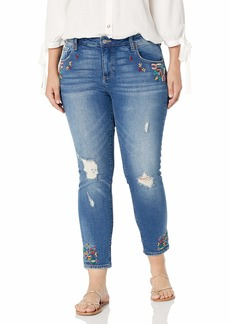 Lucky Brand Women's Size Plus MID Rise Ginger Skinny Jean in  W