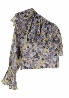 Lucky Brand Women's Sleeveless Floral TOP  M