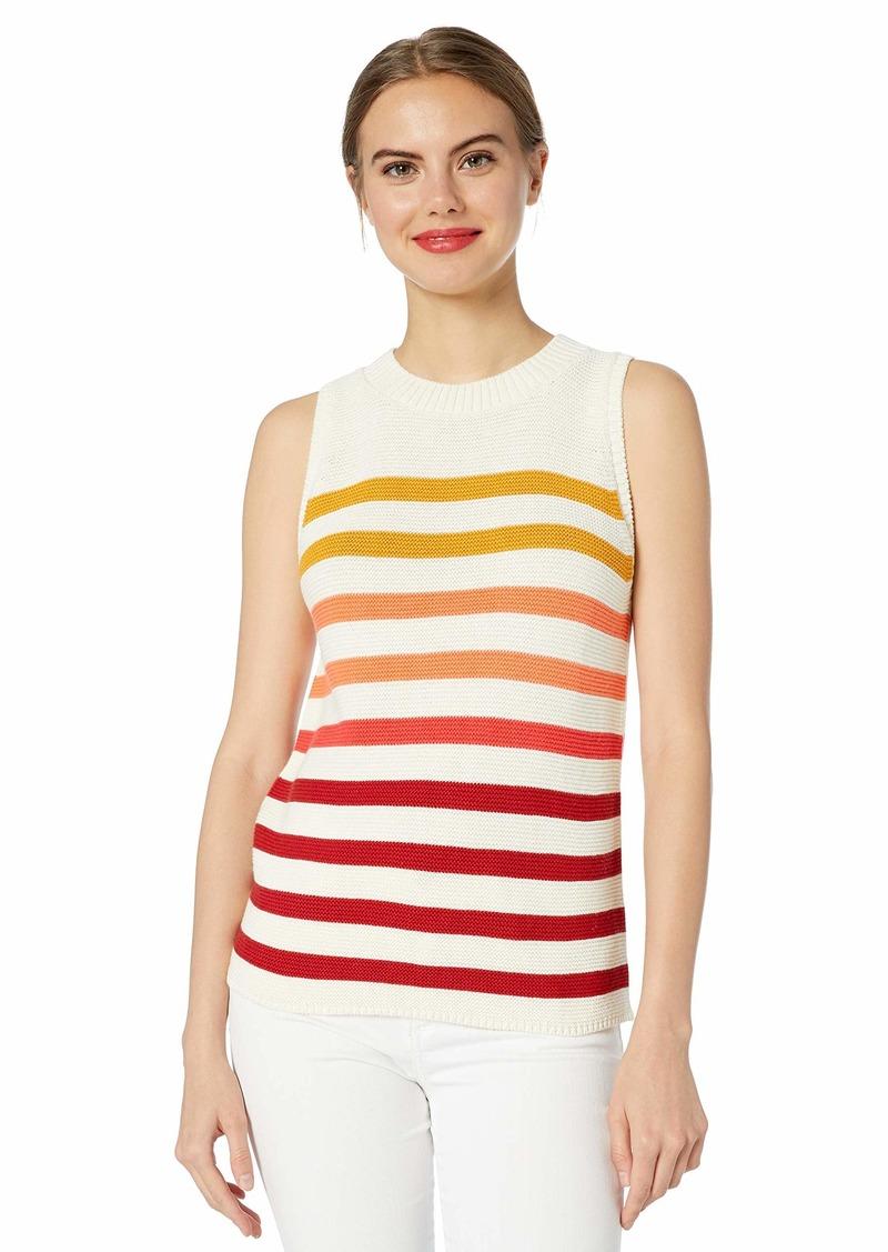 Lucky Brand Women's Sleeveless Pullover Ombre Sweater  XL