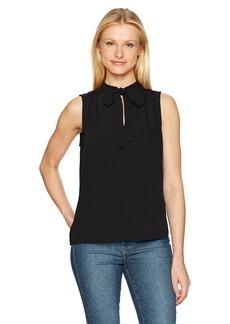 Lucky Brand Women's Solid Sleeveless Top