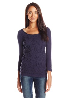 Lucky Brand Women's Soutache Tee