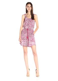 Lucky Brand Women's Stamp Twist Strap Dress