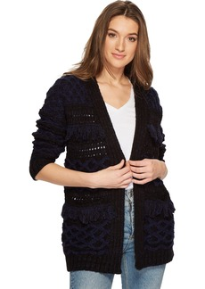 Lucky Brand Women's Stevie Cardigan Sweater  XS
