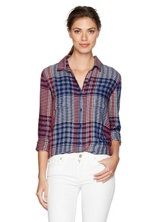 Lucky Brand Women's Stiped Tunic Top