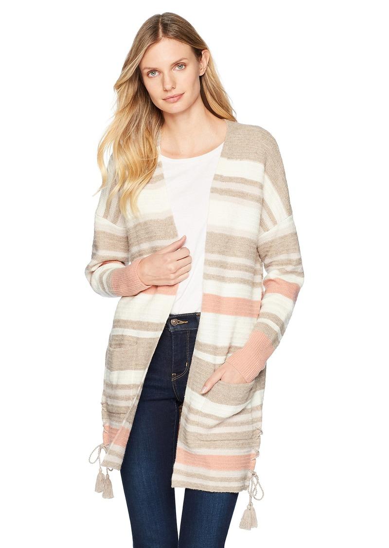 d329997baa736 Lucky Brand Lucky Brand Women s Stripe Cardigan Sweater XS