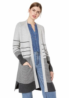 Lucky Brand Women's Stripe Duster Sweater  S