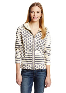 Lucky Brand Women's Stripe Mix Hoodie