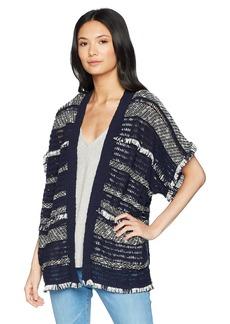 Lucky Brand Women's Stripe Poncho  XS/S