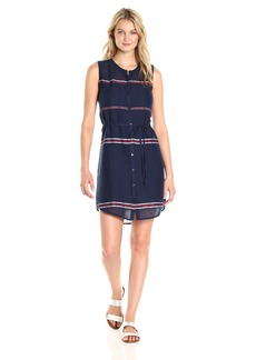 Lucky Brand Women's Stripe Shirt Dress