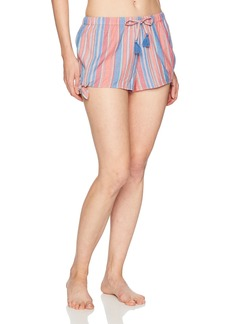 Lucky Brand Women's Striped Pajama Short  M