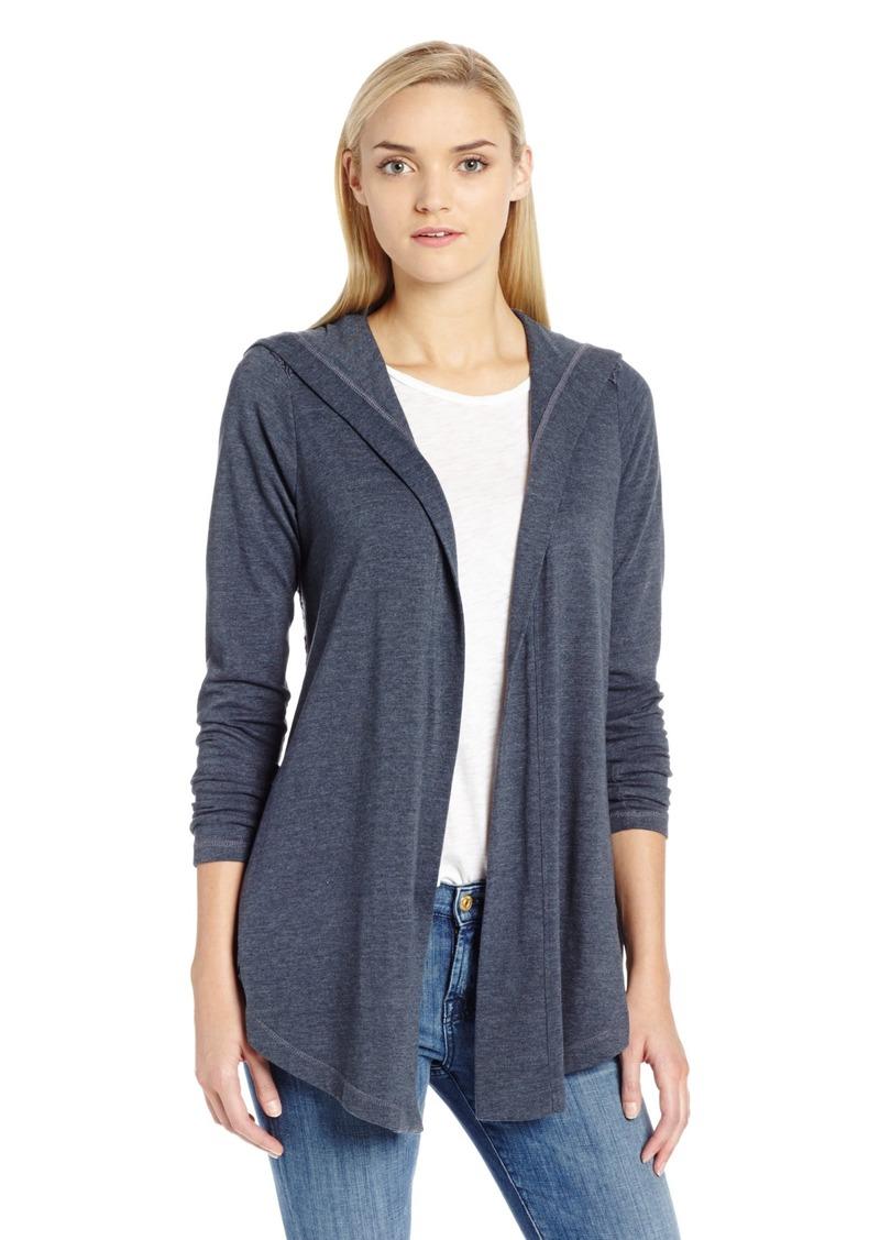 Lucky Brand Women's Sweater Back Hoodie