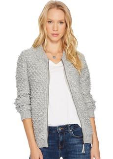 Lucky Brand Women's Sweater Bomber  S