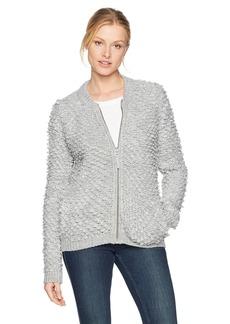 Lucky Brand Women's Sweater Bomber  XL