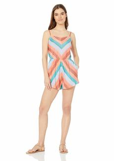 Lucky Brand Women's Swimwear Cover Up Romper