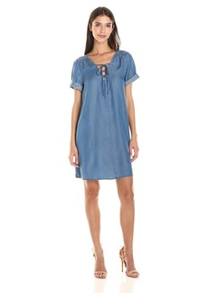 Lucky Brand Women's Tencel Swing Dress