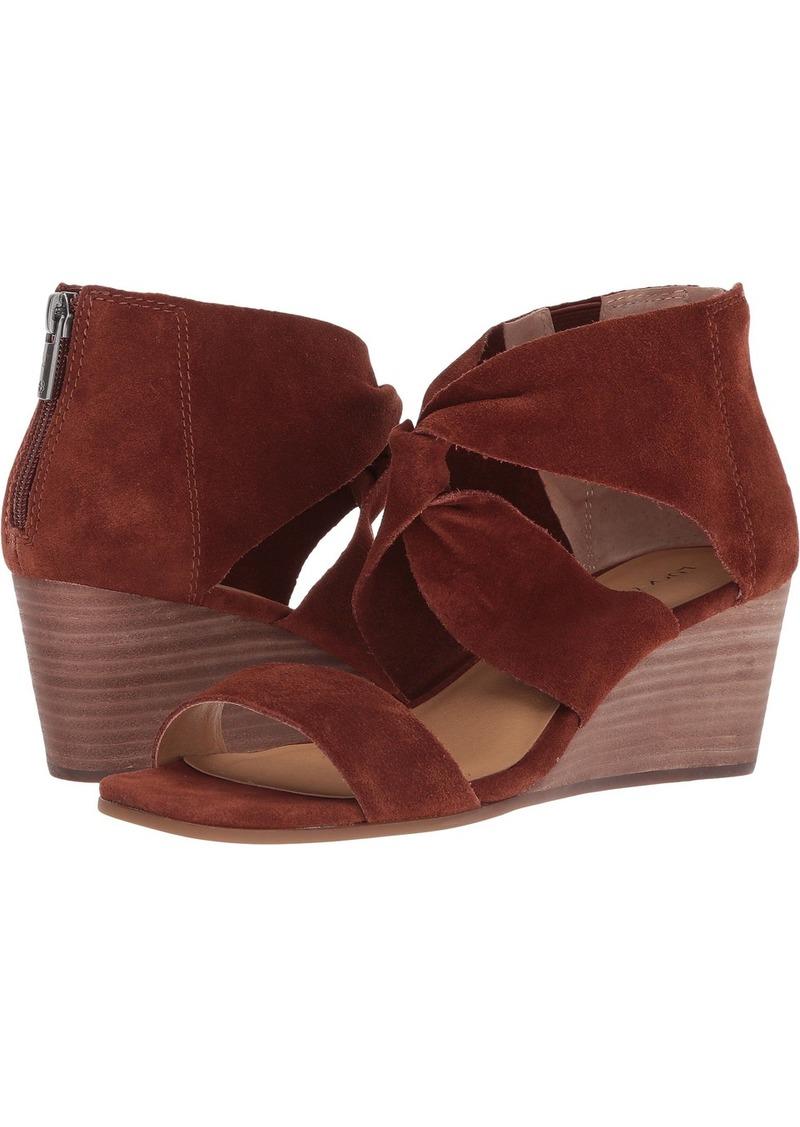 Lucky Brand Women's Tammanee Heeled Sandal   Medium US