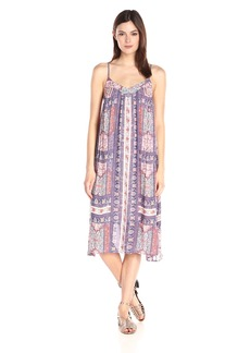 Lucky Brand Women's Tapestry-Print Dress