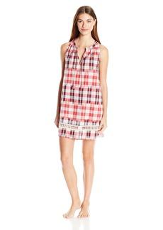 Lucky Brand Women's Tassel Sleep Dress  M