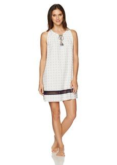 Lucky Brand Women's Tassel Sleep Dress  XL