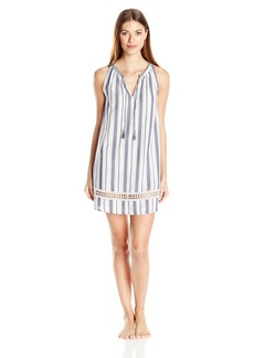 Lucky Brand Women's Tassel Sleep Dress  XL