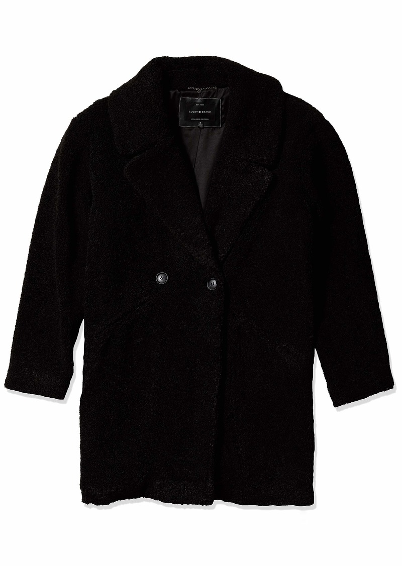 Lucky Brand Women's Teddy Coat  XL