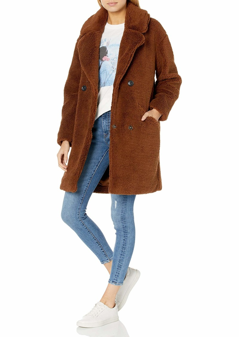 Lucky Brand Women's Teddy Coat  SM