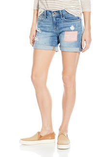 Lucky Brand Women's the Americana Roll up Jean Short