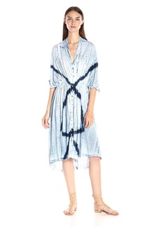 Lucky Brand Women's Tie Dye Audrey Dress