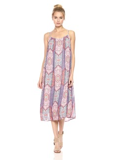 Lucky Brand Women's Tile Border Dress