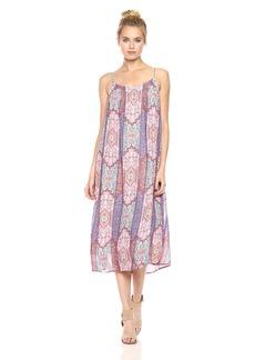 Lucky Brand Women's Tile Border Dress