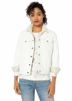 Lucky Brand Women's Tomboy Sherpa Trucker Jacket  XS