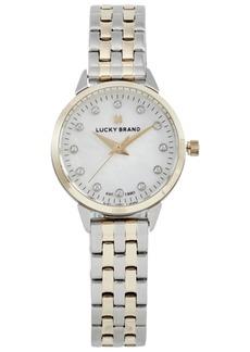 Lucky Brand Women's Torrey Mini Two-Tone Stainless Steel Bracelet Watch 28mm
