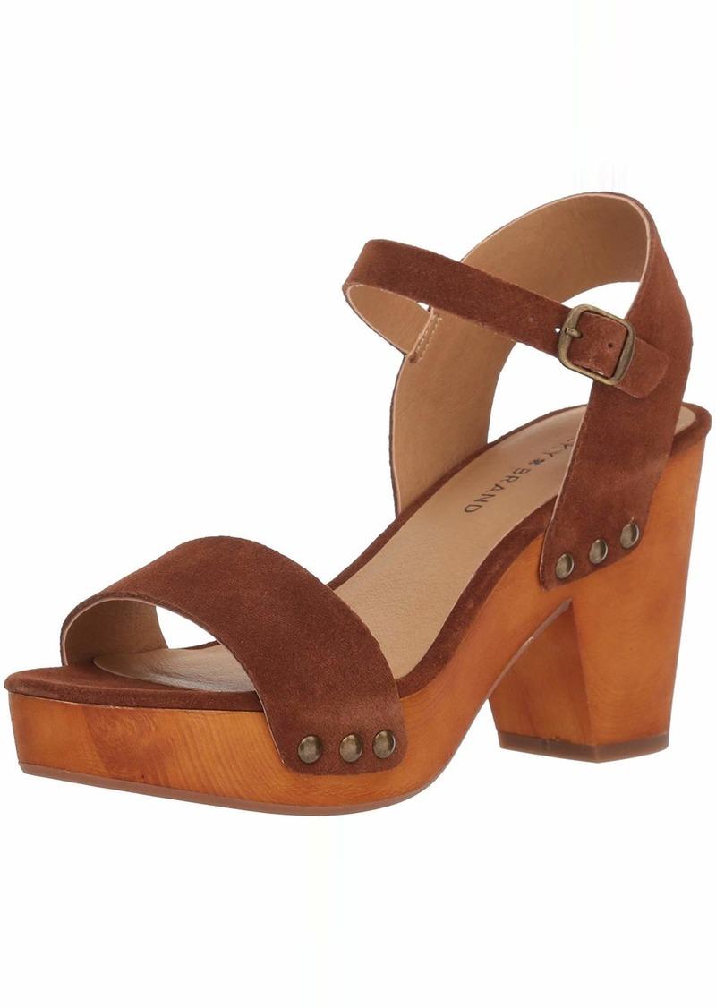 Lucky Brand Women's Trisa Heeled Sandal   M US
