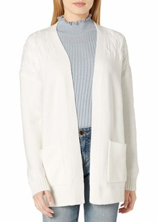 Lucky Brand Women's Venice Cable Cardigan Sweater  S