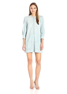 Lucky Brand Women's Victorian Popover Dress