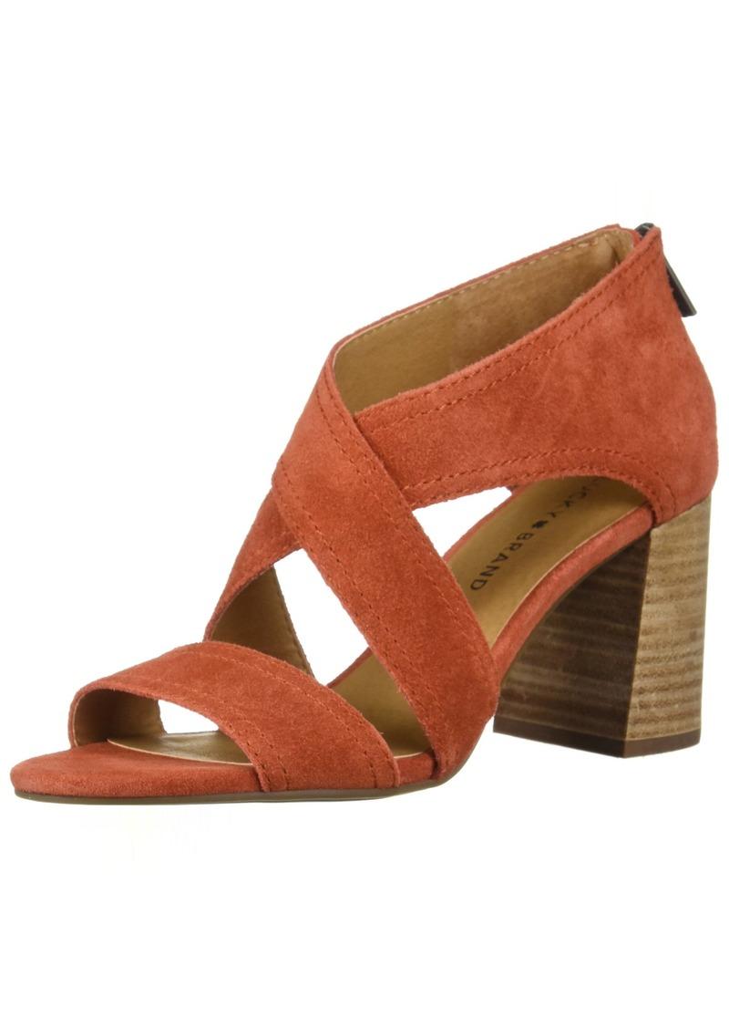 Lucky Brand Women's Vidva Heeled Sandal   Medium US