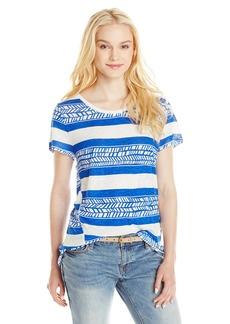 Lucky Brand Women's Vine Stripe Top