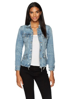 Lucky Brand Women's Waisted Trucker Jacket