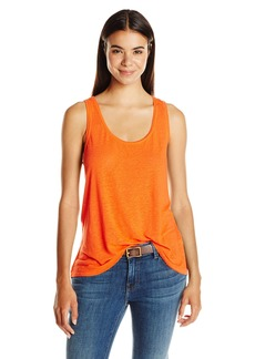 Lucky Brand Women's Washed Woven Mixed Tank Top