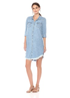 Lucky Brand Women's Western Shirt Dress