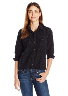 Lucky Brand Women's Western Tunic Shirt