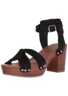 Lucky Brand Women's Whitneigh Heeled Sandal  11 Medium US