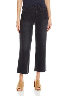 Lucky Brand Women's Wide Leg Crop Jean humbled