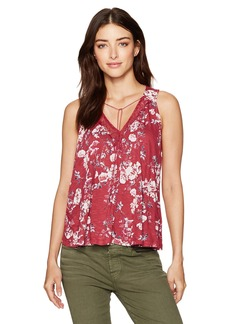 Lucky Brand Women's Wildflower Lace Tank Top